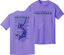 Volleyball T-Shirt: Volleyholic