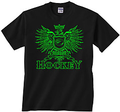Pure Sport Hockey T-Shirt: Play Hard Eagle
