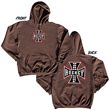 Hooded Hockey Sweatshirt: Hardcore Hockey