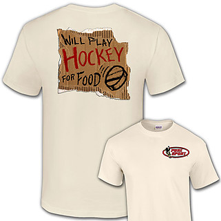 PureSport Hockey T-Shirt: Hockey For Food
