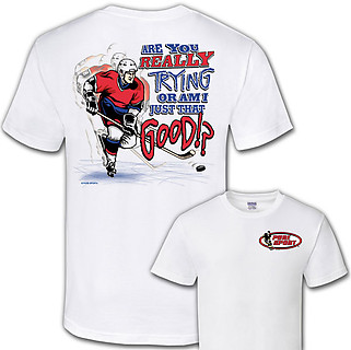 Pure Sport Hockey T-Shirt: Are You Really Trying?
