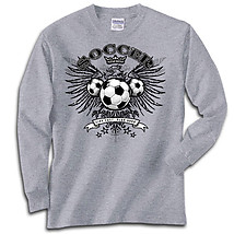 Long Sleeve Soccer T-Shirt: Freebird Soccer