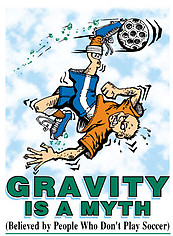 Soccer T-Shirt: Gravity