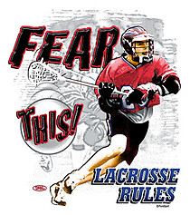 Pure Sport Lacrosse T-Shirt: Fear This