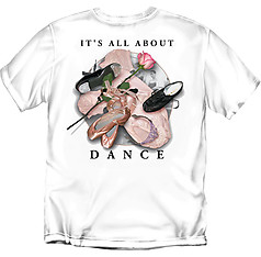 Coed Sportswear Dance T-Shirt: It's All About Dance