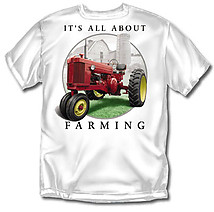 Farming T-Shirt: All About Farming