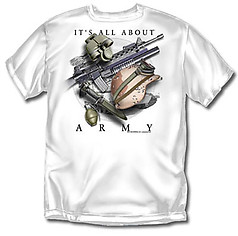 Coed Sportswear Army T-Shirt: All About Army