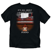 Piano T-Shirt: All About Piano