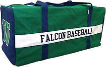 Canvas Custom Baseball/Softball Large Catcher Bag (16