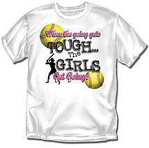 Youth Softball T-Shirt: Going Tough Softball