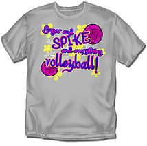 Youth Volleyball T-Shirt: Sugar Spike Volleyball