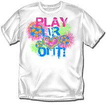 Youth Soccer T-Shirt: Play Heart Out Soccer