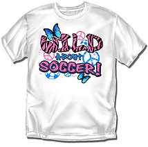 Youth Soccer T-Shirt: Wild Soccer