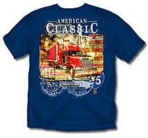 Trucker T-Shirt: Freightliner American Classic