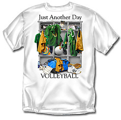 Coed Sportswear Volleyball T-Shirt: Just Another Day