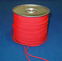 Hockey Net Lacing Cord/Roll (Red/1000 feet)