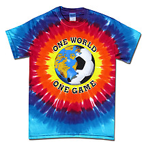 Soccer T-Shirt: One World Sunburst