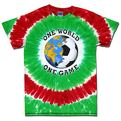 Mexico World Cup Soccer One World Tie Dye T-Shirt