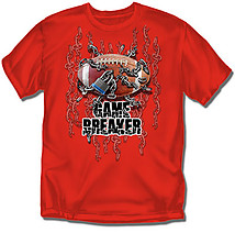 Youth Football T-Shirt: Game Breaker