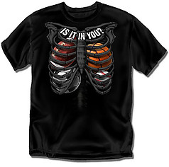 Coed Sportswear Youth Multi Sport T-Shirt: Ribs Equipment