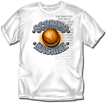 Youth Basketball T-Shirt: Scoring Machine