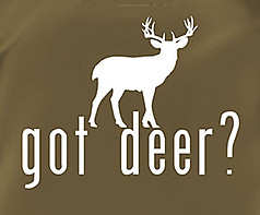Coed Sportswear Hunting T-Shirt: Got Deer?