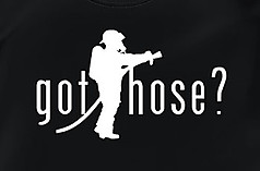 Coed Sportswear Firefighter T-Shirt: Got Hose?