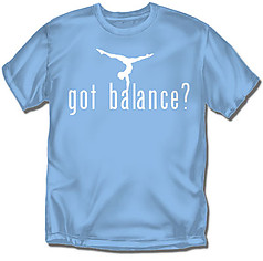 Coed Sportswear Youth Gymnastics T-Shirt: Got Balance?