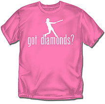Youth Softball T-Shirt: Got Diamonds?