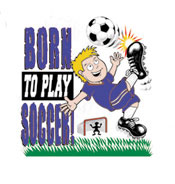 Soccer T-Shirt: Born to Play (Infant/Toddler)