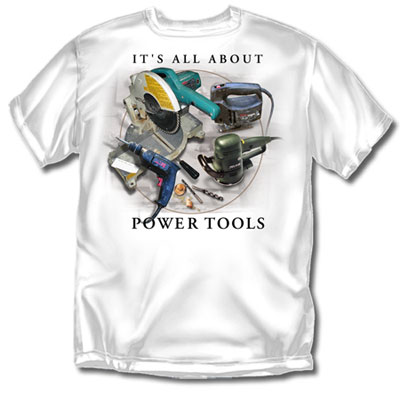 Coed Sportswear Carpenter T-Shirt: All About Tools