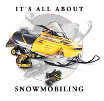 Snowmobiling T-Shirt: All About Snowmobiling
