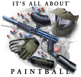 Paintball T-Shirt: All About Paintball