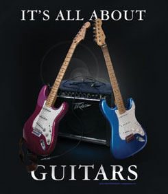 Guitar T-Shirt: All About Guitars