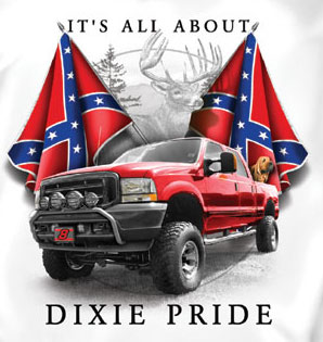Rebel T-Shirt: All About Dixie Pride