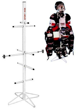 Hockey Equipment Dryer Rack: Metal Model