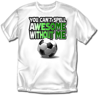 Coed Sportswear Youth Soccer T-Shirt: Awesome Soccer