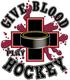 Pure Sport Hockey T-Shirt: Give Blood
