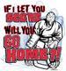 Pure Sport Hockey T-Shirt: Go Home
