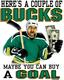 Pure Sport Hockey T-Shirt: Couple Of Bucks