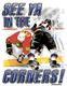 Pure Sport Hockey T-Shirt: See Ya In The Corners