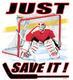 Pure Sport Hockey T-Shirt: Just Save It